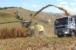 Tulloch - Krone tractor